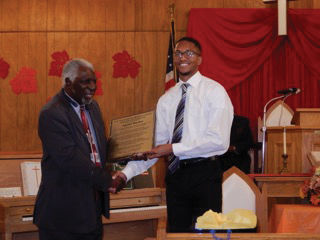 Williamson NAACP honors local man