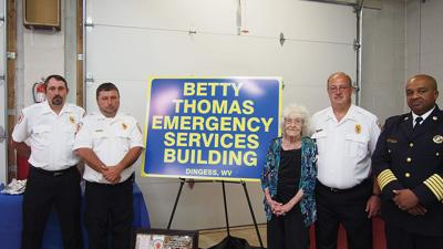 EFVFD 'firefighter' honored for her many years of service
