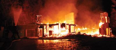 Loftis Mansion destroyed