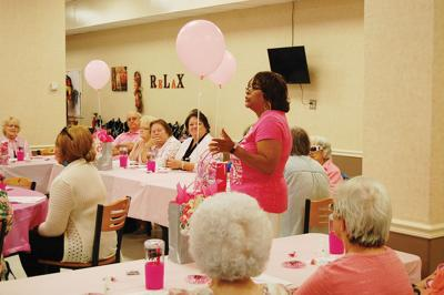 ARH recognizes breast cancer awarenessMingo Messenger photos by   Bruce Justice