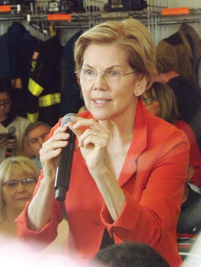 Presidential candidate Warren makes campaign stop in Kermit