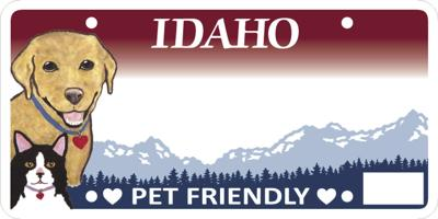 Pet Friendly License Plates Available Soon in Idaho