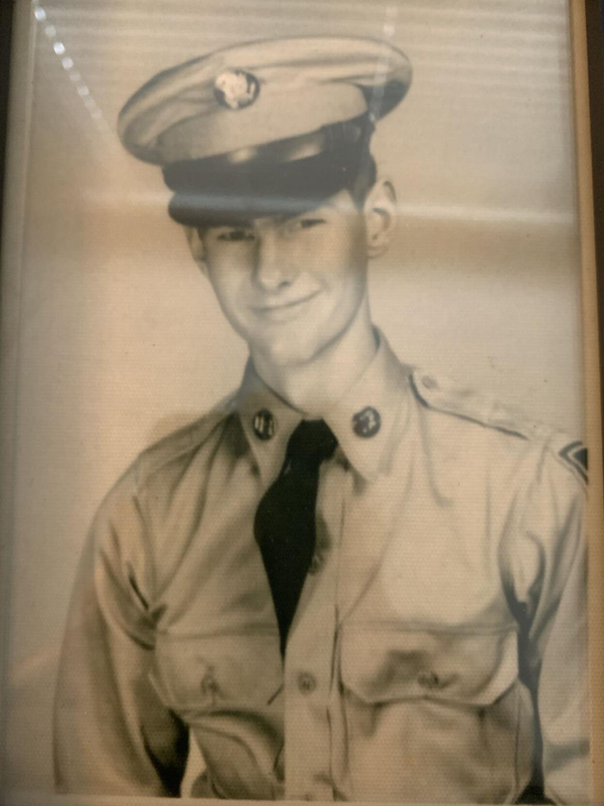 Harry Richard Badger Military