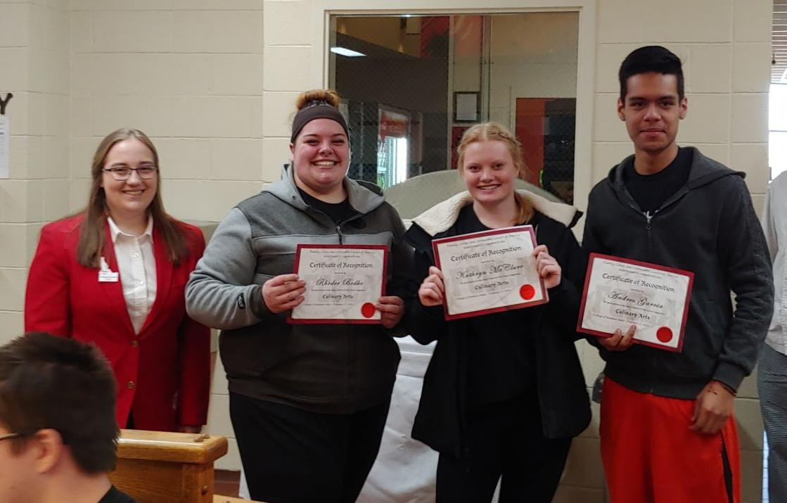 Oakley High Places 3rd at FCCLA State Pic1