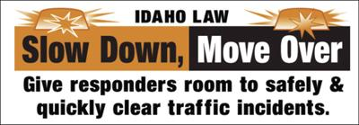 """Expansion of """"Move Over"""" Law July 1Extends Protections to Highway Workers and ITD Responders"""