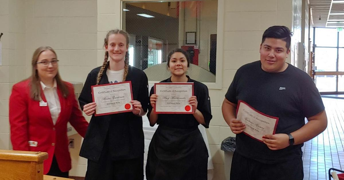 Oakley High Places 3rd at FCCLA State Pic 2