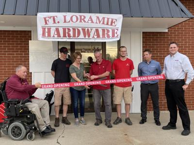 FL hardware ribbon cutting