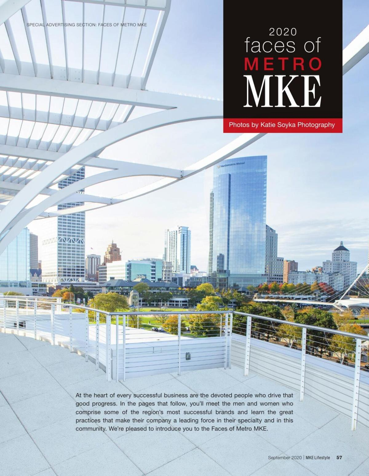 MKE Lifestyle Faces of Metro MKE 2020