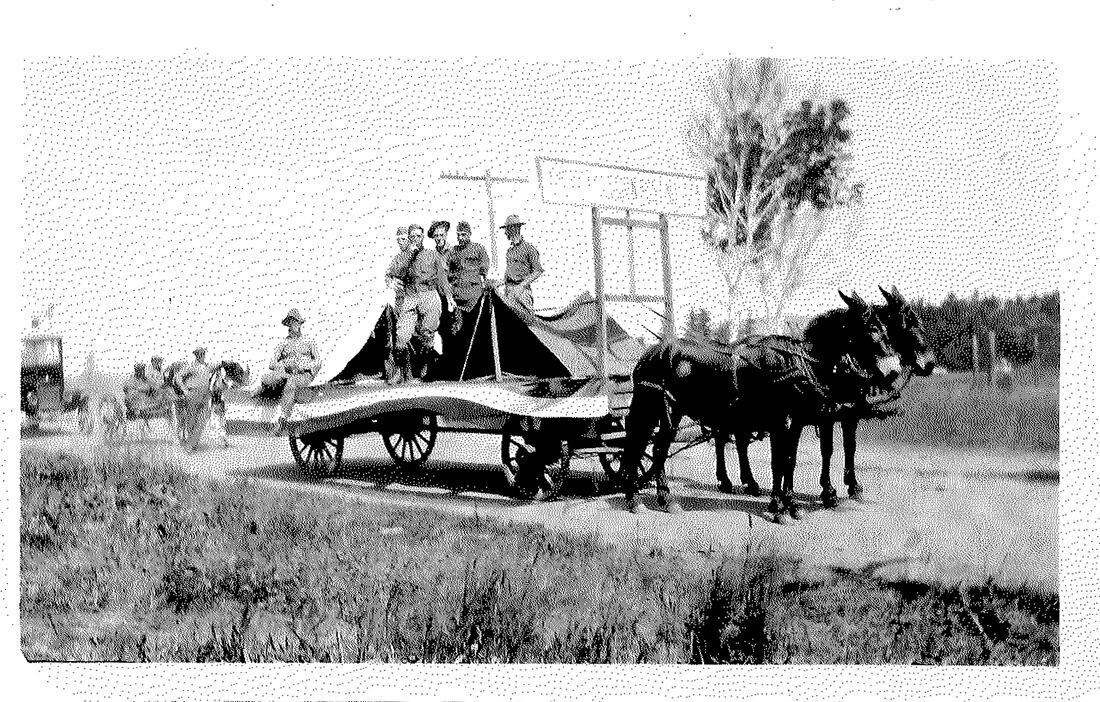 Fourth of July parade 1920