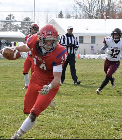 MLWR Rebels outgain Crosby-Ironton