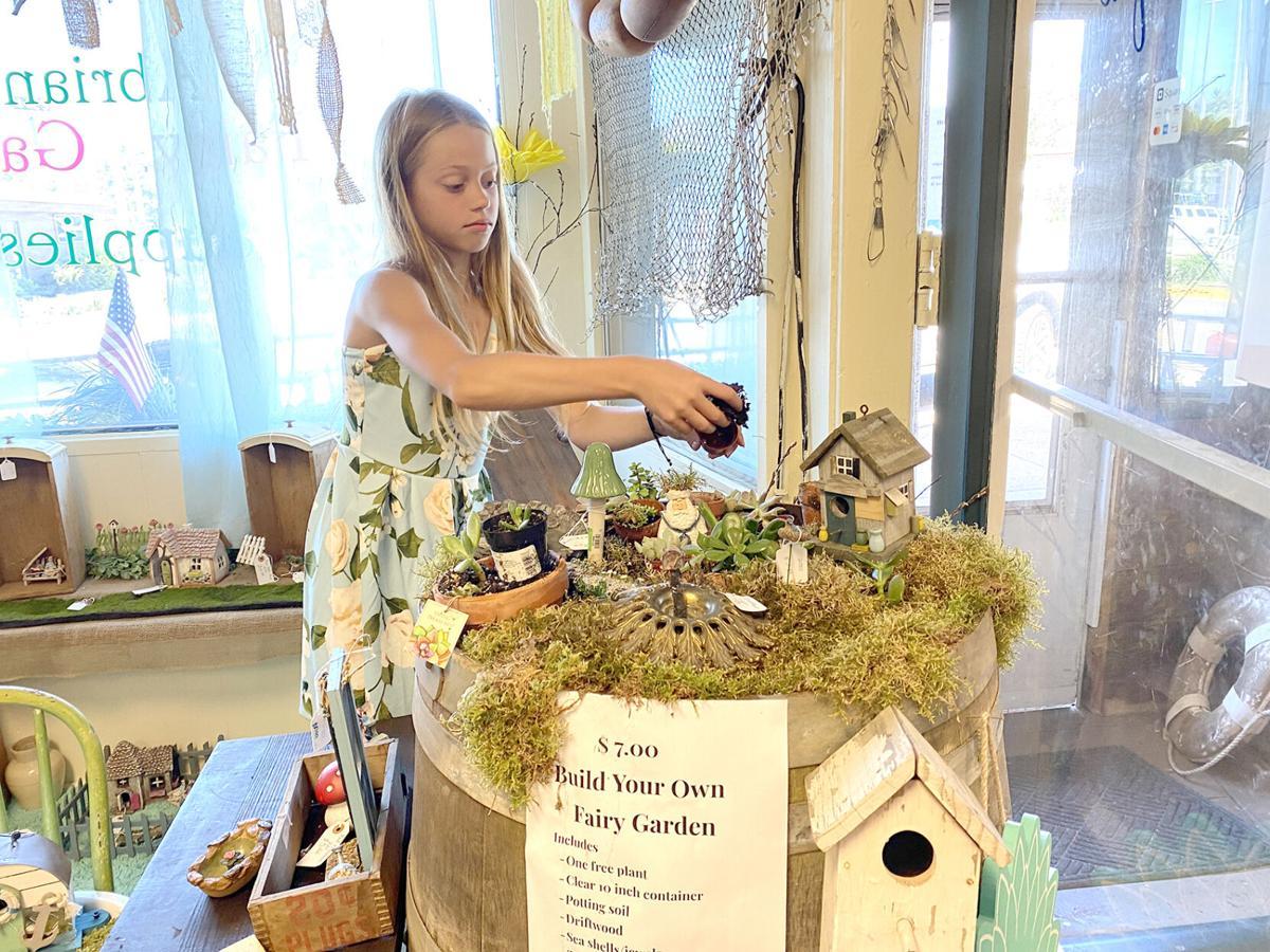 Abriana explains how to make a fairy garden