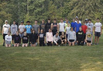 2021 Cross Country team