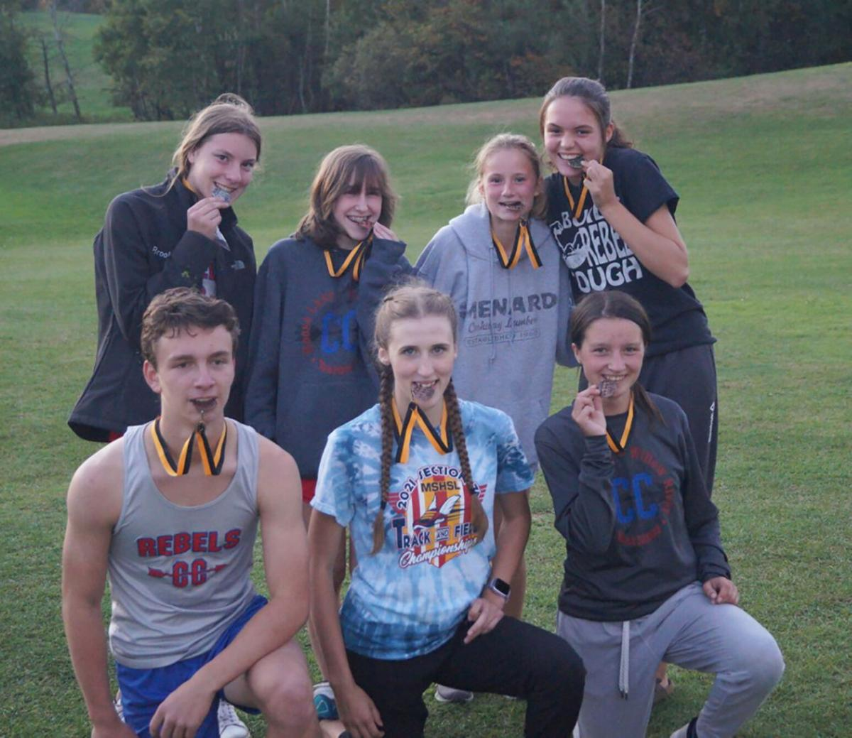 Cross Country medal winners