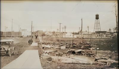 Moose Lake after the 1918 Fires