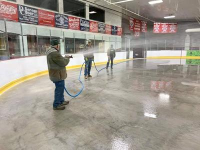 Ice is in at Riverside Arena