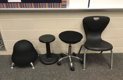 Wiggly fourth graders get seats that suit thanks to generous donors