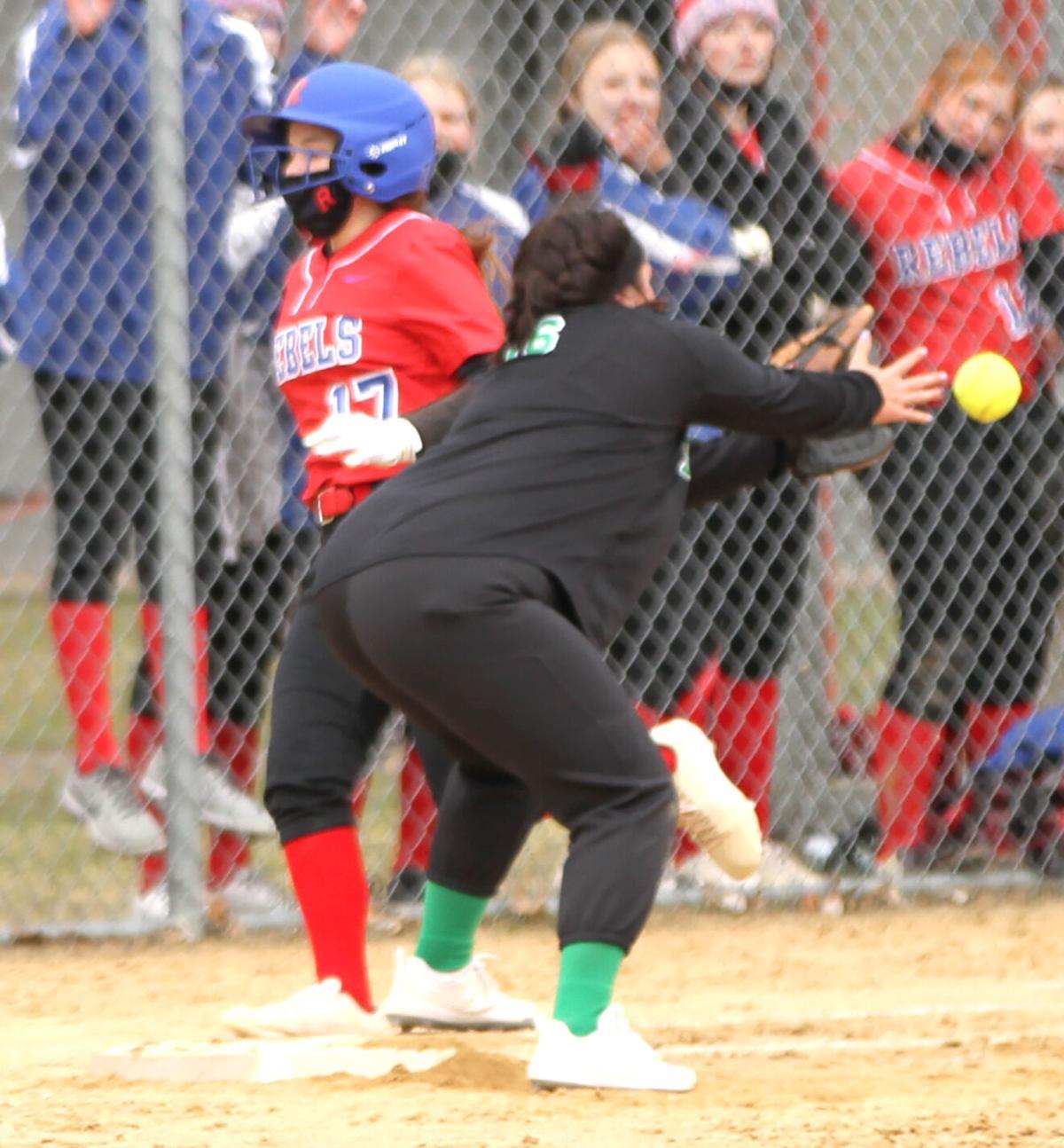 MLWR softball team ten runs Denfeld and Pine City