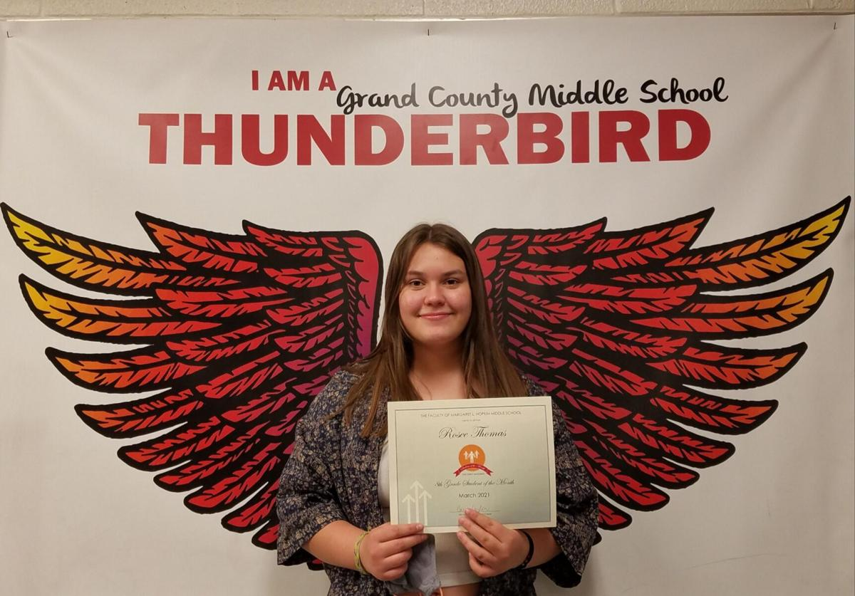 Student of the month: Rosee Thomas