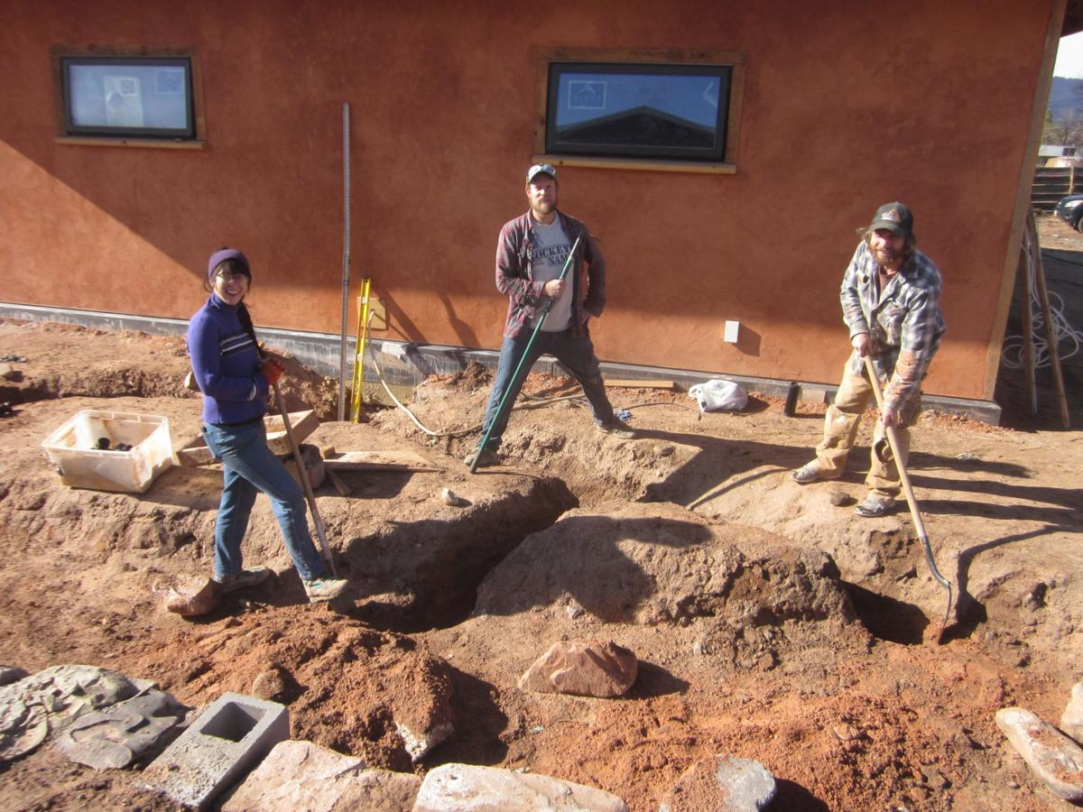 Graywater Trench Digging