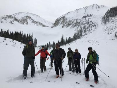 Backcountry 101 skiers