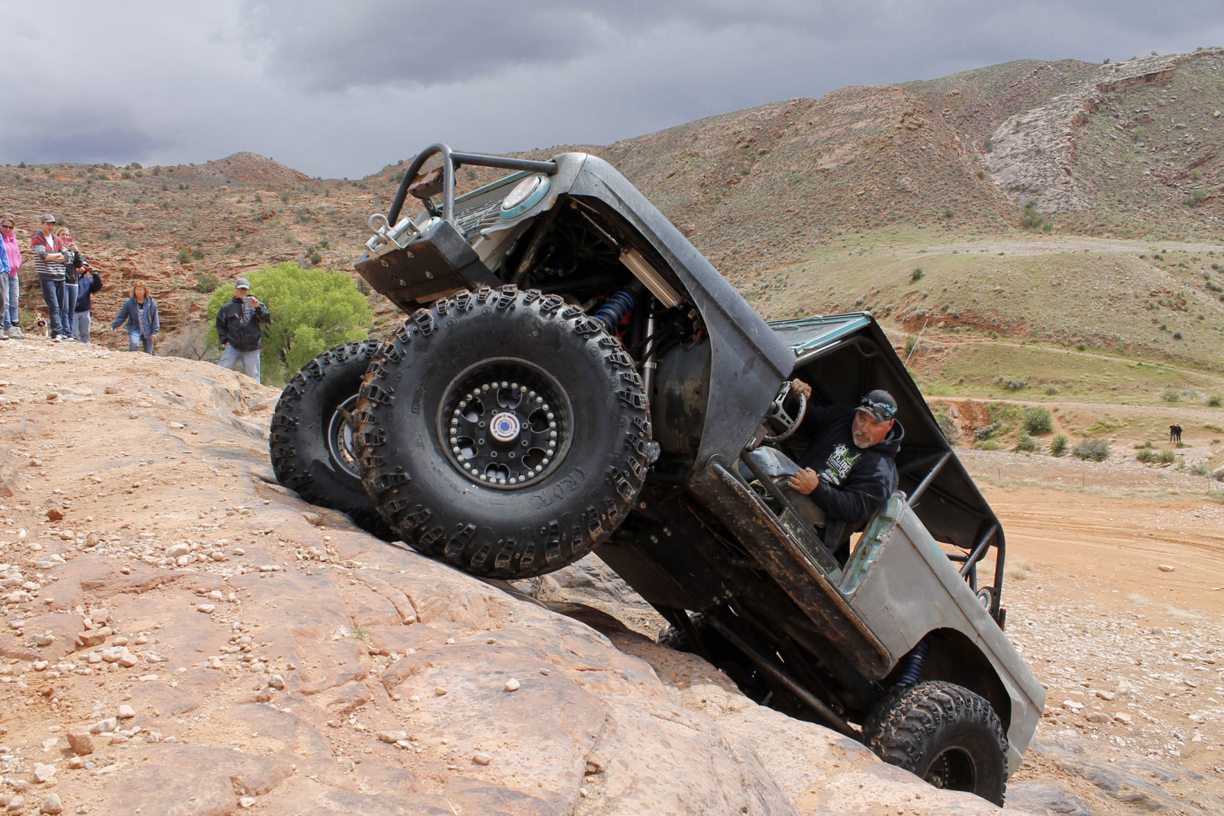 ... His Bronco During A Previous Easter Jeep Safari. This Yearu0027s Event Will  Run From Saturday, March 24, Through Sunday, April 1. [Moab Sun News File  Photo]