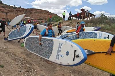 Back of Beyond Paddle Race gets faster this year