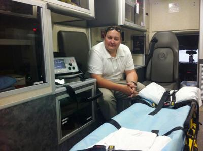 Grand County EMS director Andy Smith