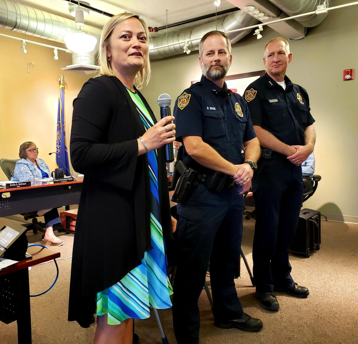 City names Bret Edge as new police chief | News | moabsunnews com