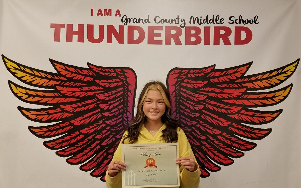 Student of the month: Daisy Han