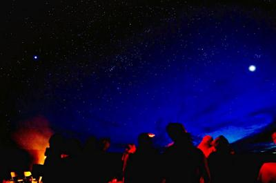 A number of night sky programs will be offered at Dead Horse Point State Park