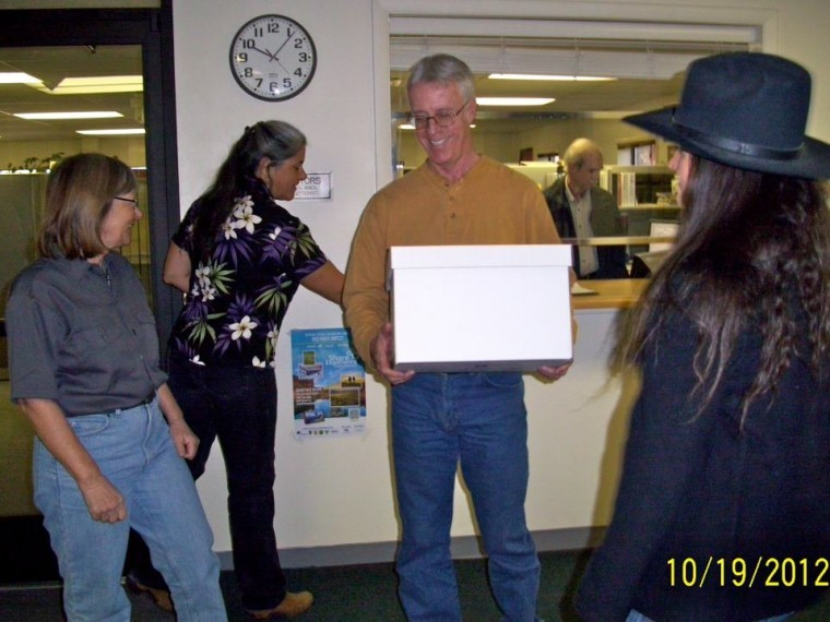 Nearly 76 000 Signatures On Two Petitions Delivered To Moab BLM