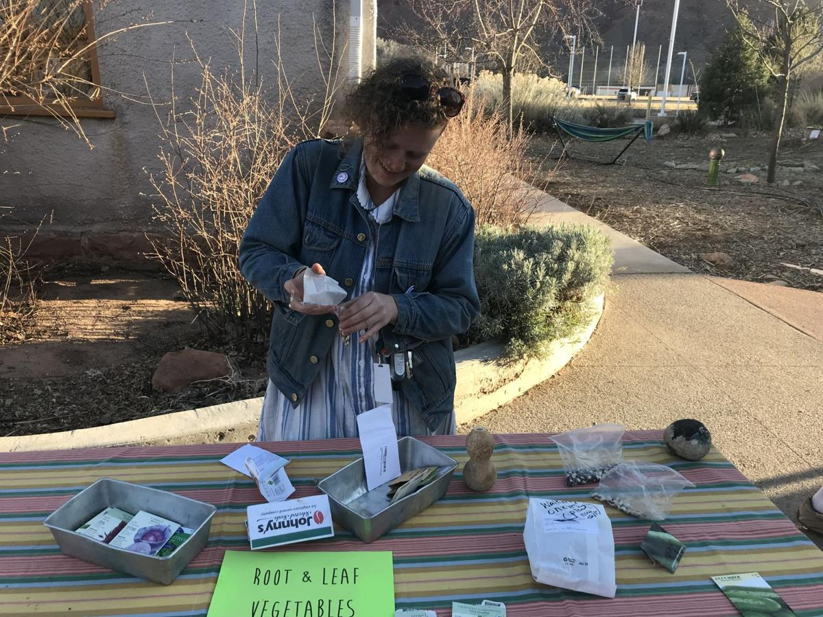 Youth Garden Club Seed Swap and Potluck