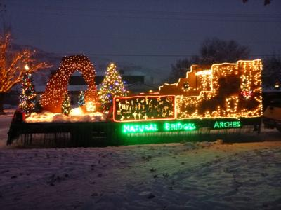 Last Year S Christmas Electric Light Parade Float Contest Winner