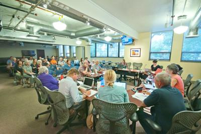 Moab City Planning Commission on the proposed Abbey subdivision