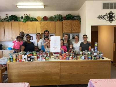 Food drive for the Moab community