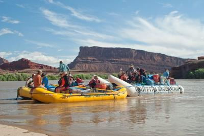 Veterans raft the Colorado River for Warriors on Cataract