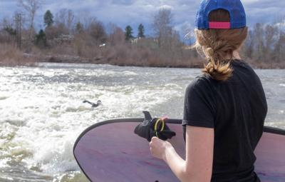 River surfing picks up as snow melts