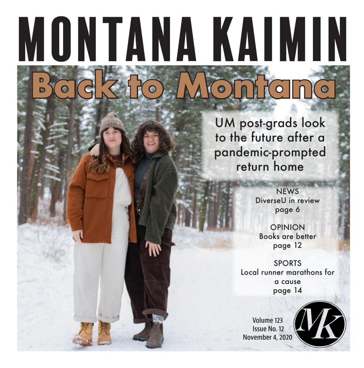 Montana Kaimin | Vol 123 Issue no. 012 11.4.2020