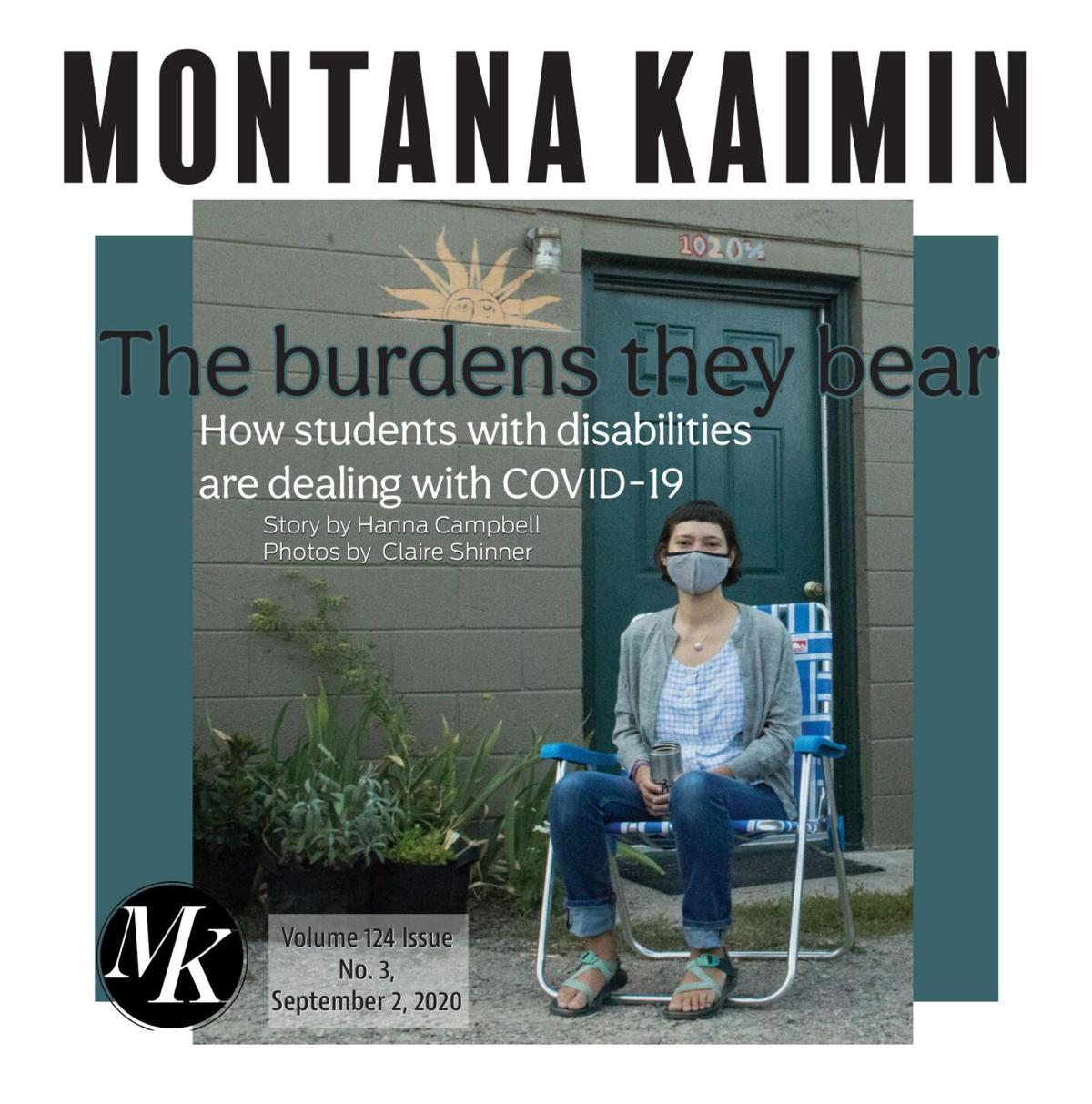 Montana Kaimin | Vol 123 Issue no. 03 09.02.2020