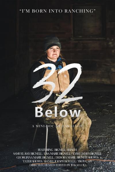 32 Below poster