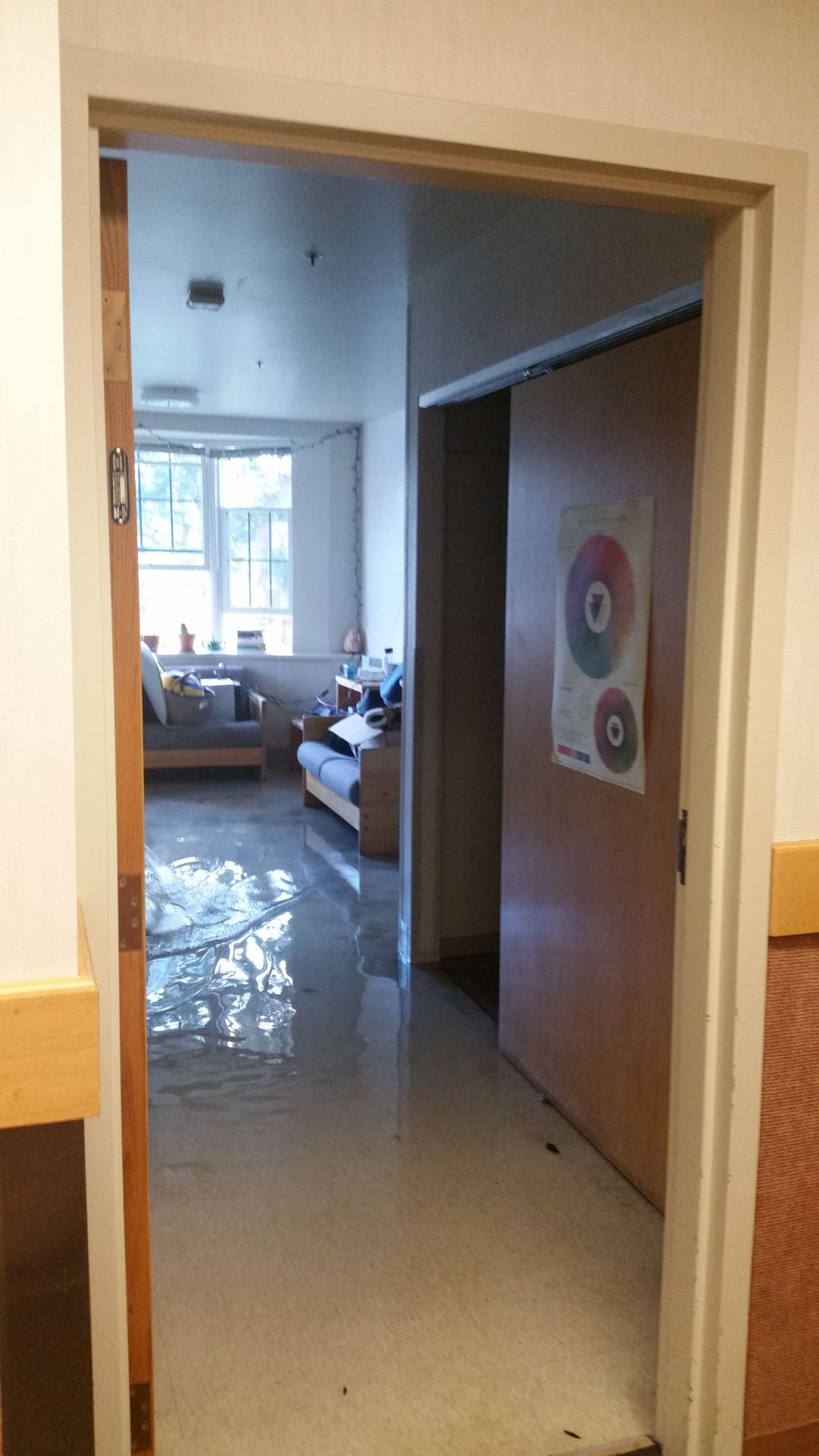 BREAKING: Pantzer Hall Fire Sets Off Sprinklers, Floods Dorm Room