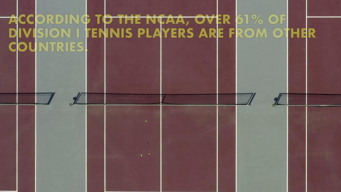 Tennis team aces international recruitment