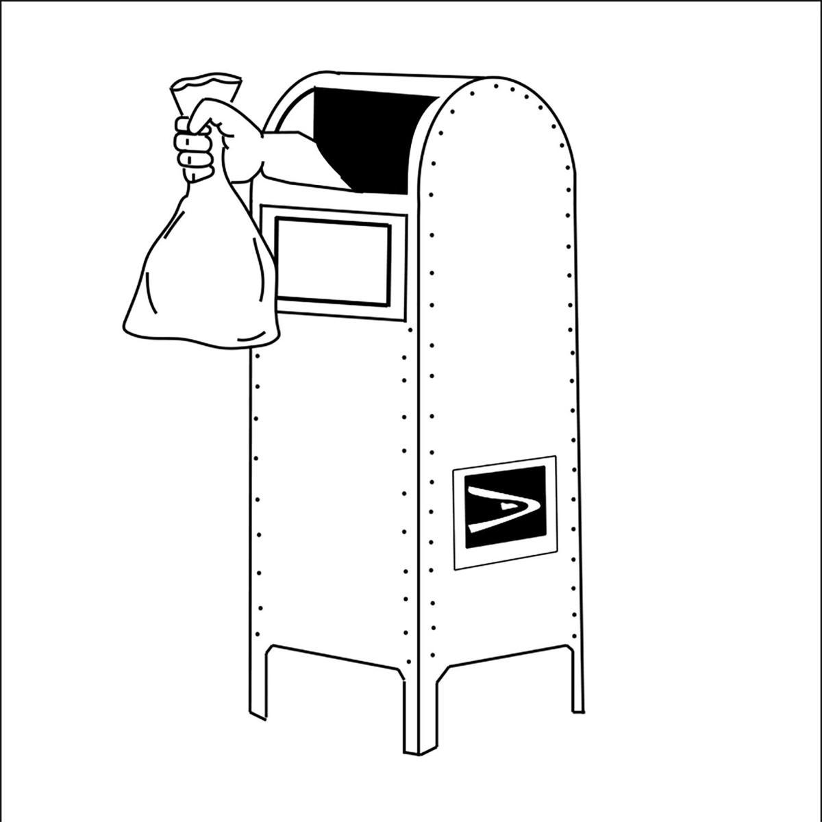 mailbox for blotter 8-26