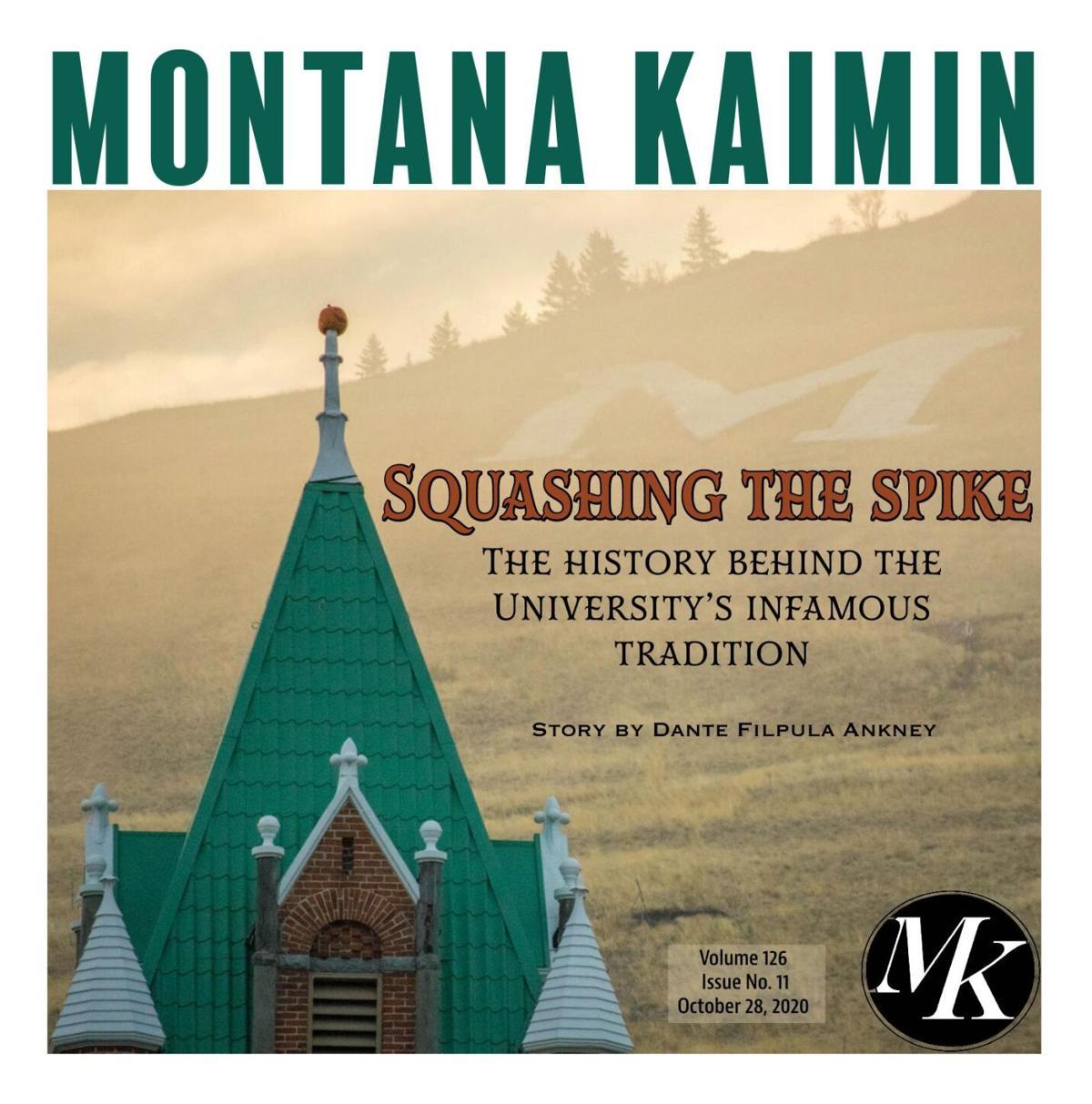 Montana Kaimin   Vol 123 Issue no. 011 10.28.2020 (copy)