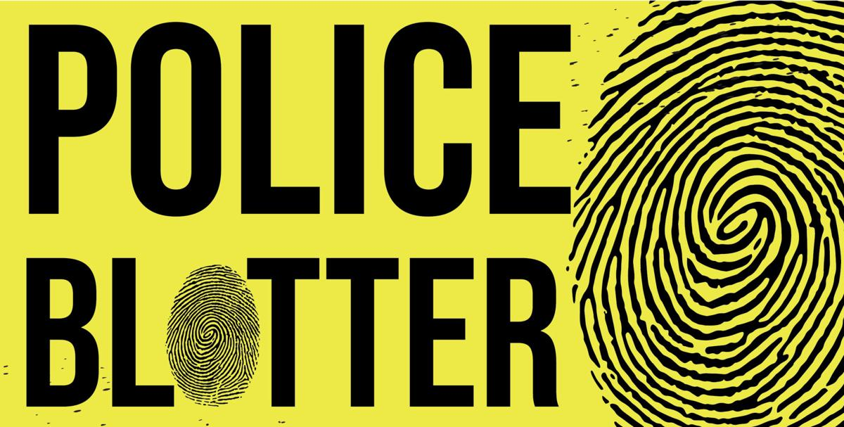 2018-2019 Police Blotter Graphic Stock
