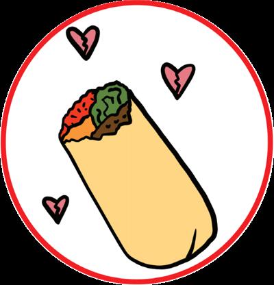 Broken Heart Burrito
