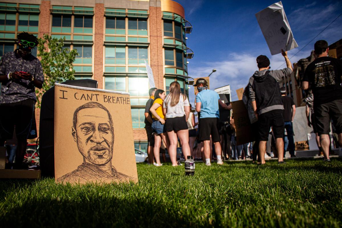 Protesters for Black Lives Matter gather in Missoula for the eighth day straight