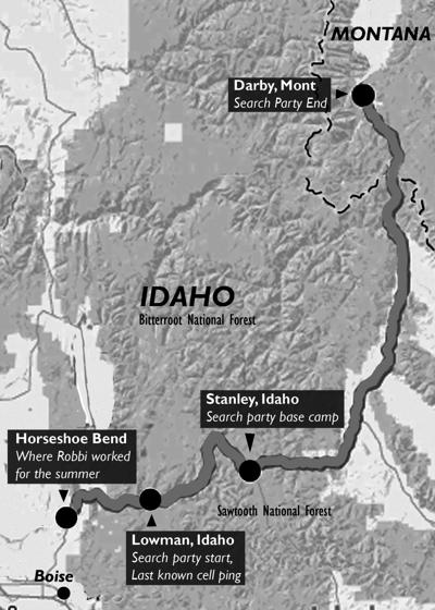 Volunteers arrive in Idaho as search intensifies for university