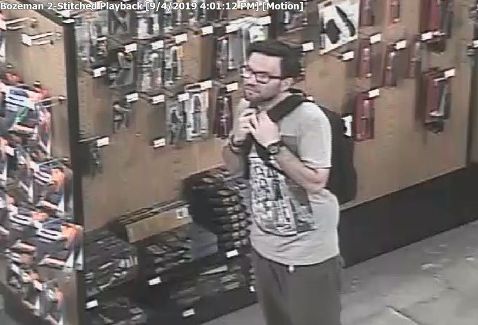 Bozeman Police looking for this man