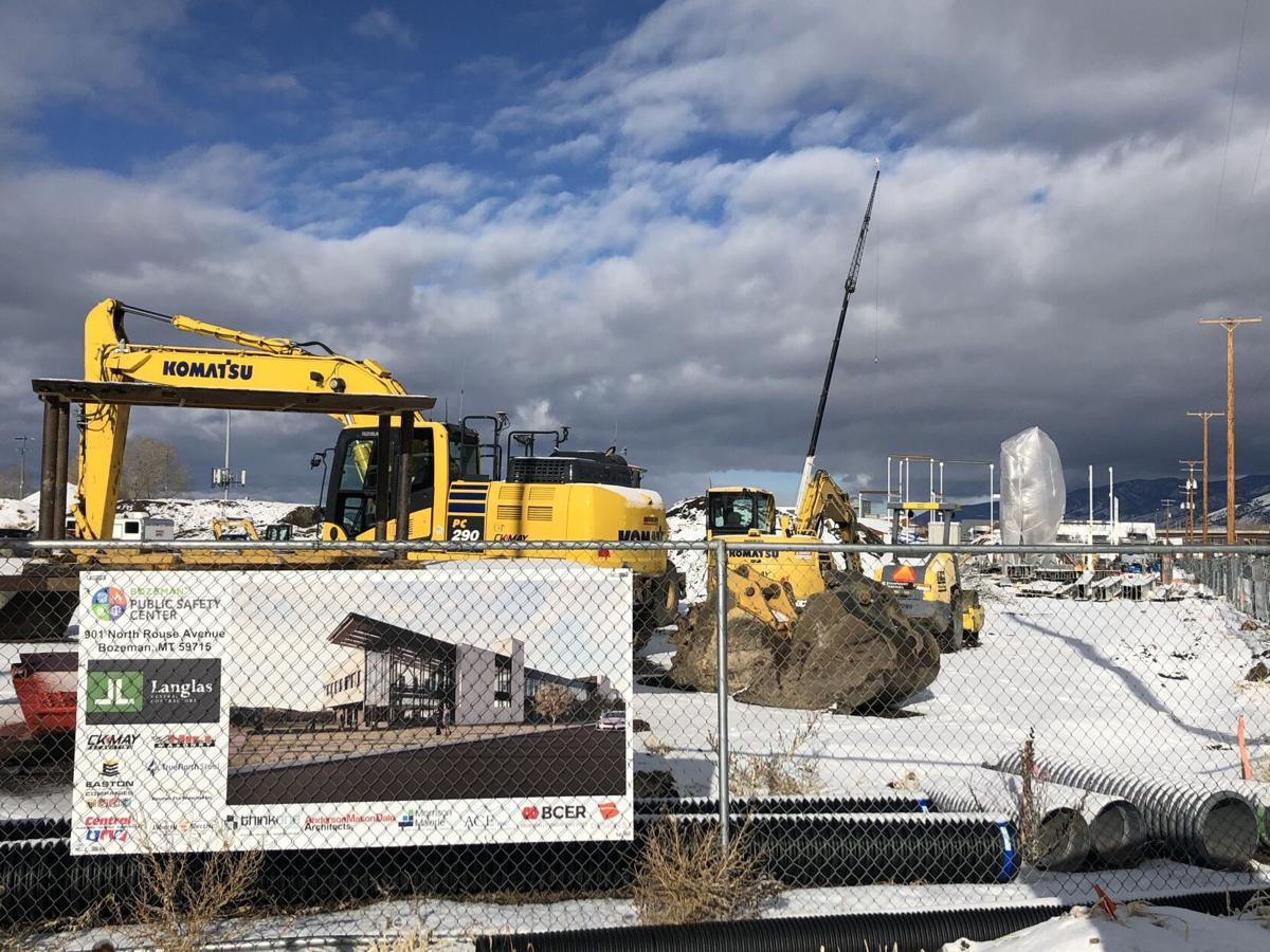 Bozeman Public Safety Center construction on schedule to keep city safe and growing